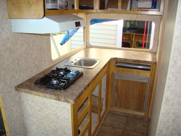 Custom Built Travel Trailers >> DIY Camper Trailer Built from an Old Pop-Up on a Budget of $4500