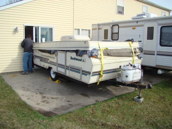 Diy Camper Trailer Built From An Old Pop Up On A Budget Of