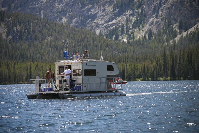 Weekend At The Lake Or In The Rv With A Floating Rv You