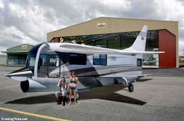 Funny Flying RV: Class A Mounted on an Airplane Chasis