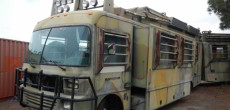 Custom Fleetwood Jurassic Park RV Used in the Blockbuster Hit Movie
