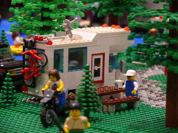 LEGO RV motorhome