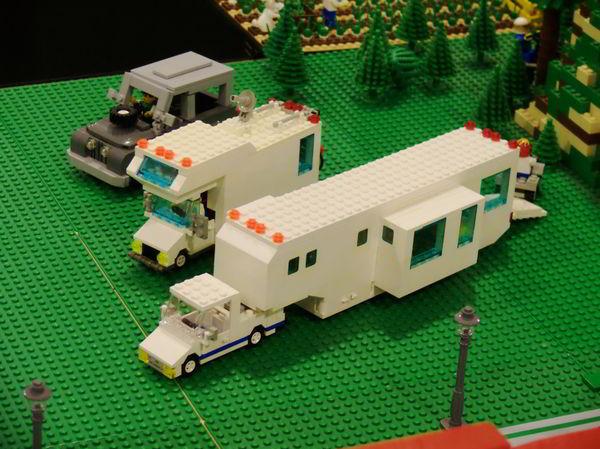 LEGO toy hauler RV