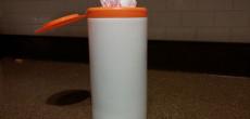 Handy Plastic Bag Storage Idea Re-Purposing a Wet Wipe Container