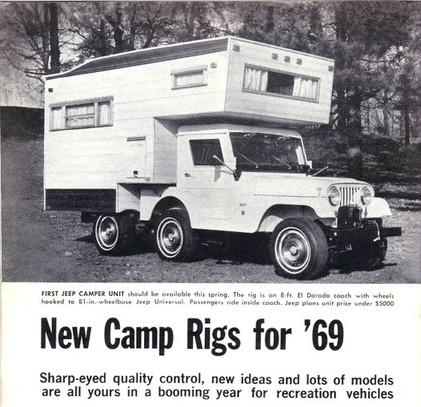 1969 CJ5 Camper
