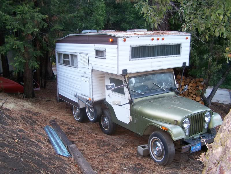 CJ5 Jeep Camper