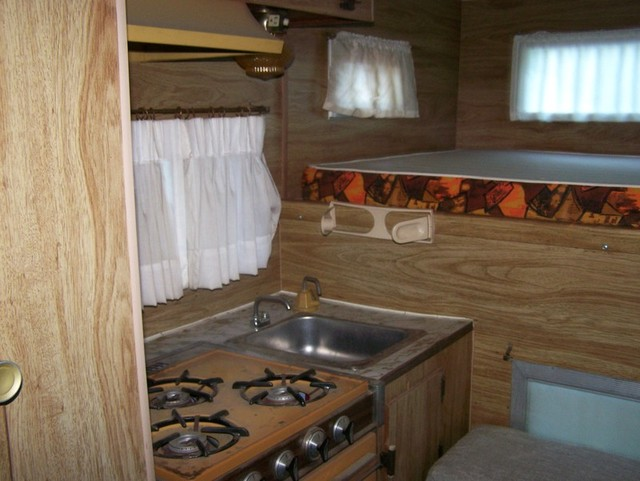 CJ5 camper interior