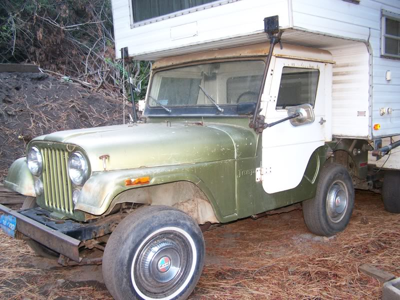 The 1969 Cj5 Jeep Camper Could Be The Rarest Rv Ever