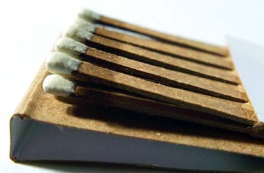 Waterproof Camping Matches Containers Using Discarded Household Items
