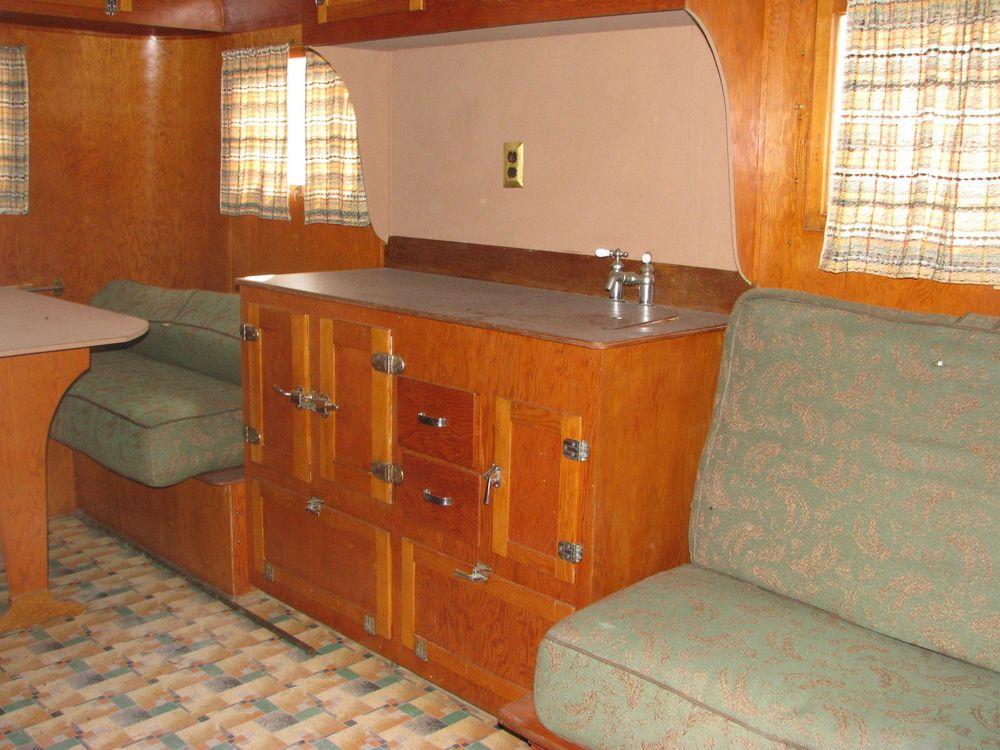 Nash Travel Trailers >> 1939 Covered Wagon Company Trailer and Matching 1954 Nash Custom