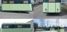 1939 Covered Wagon Company Trailer and Matching 1954 Nash Custom