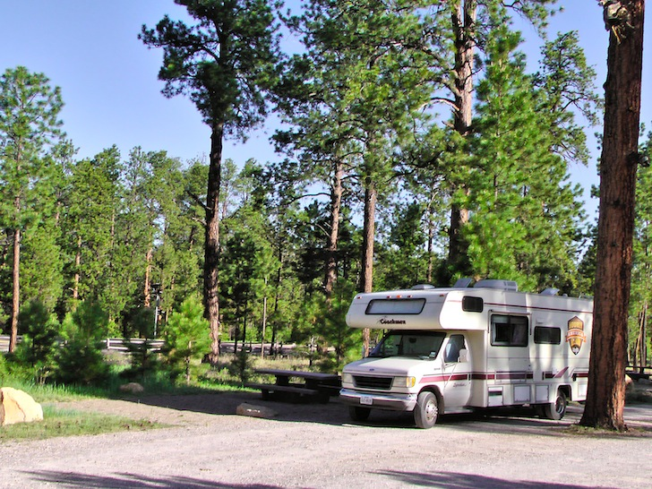 Camping at Jacob Lake Campground