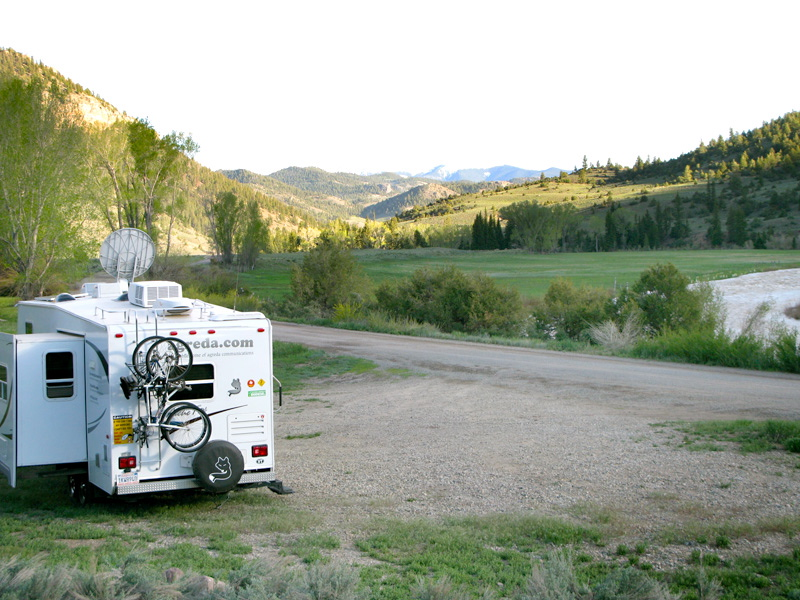 Camping in Lake City Colorado Rene Agredano Agreda
