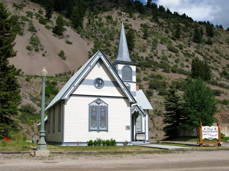 Old Church Lake City Colorado Rene Agredano