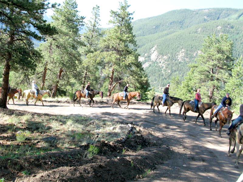 horseback riding in lake city colorado