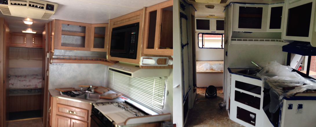 Two Twenty Somethings Transform Their 1994 Coachmen