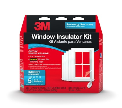 3M window insulation kit