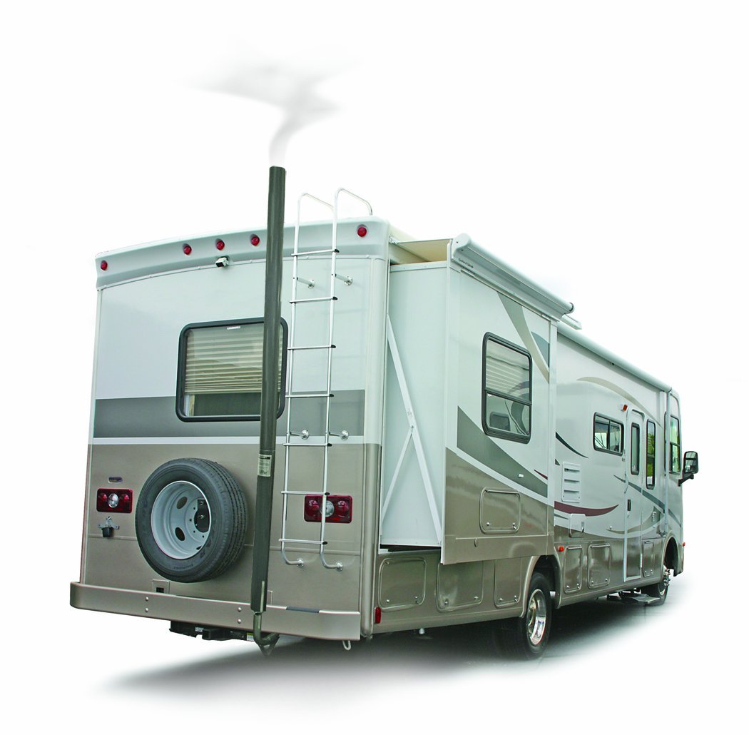 RV generator noise reduction and exhaust fumes