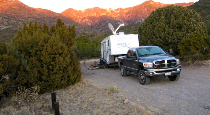 basic rv camping site