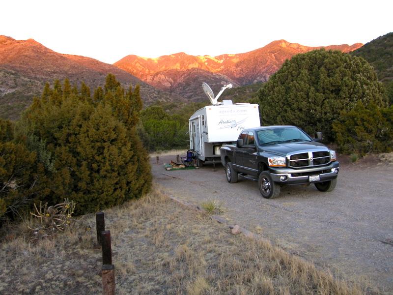 basic rv camping site