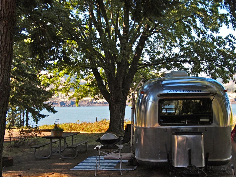 camping in hood river oregon