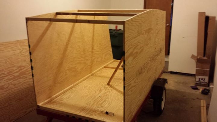 custom camper made with fine grade plywood