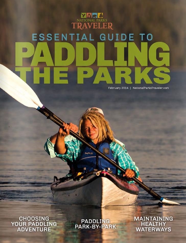 national parks traveler paddling guide