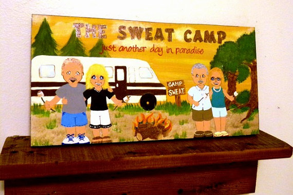 Have a Camping Memento You Can Be Proud Of – Get Your Own Wood Painting