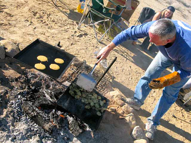 rv cooking cowboy cookout
