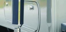 rv generator exhaust close up