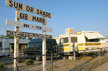 rv spots with shade