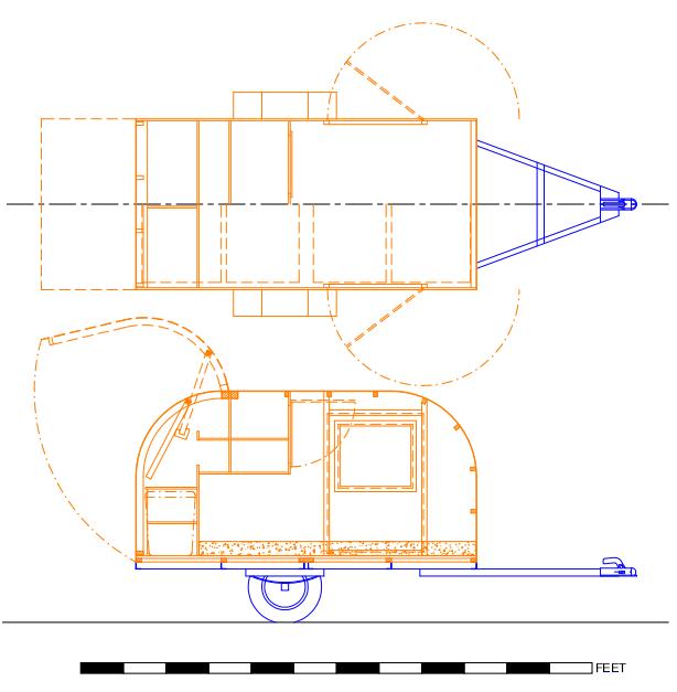 Truck Camper Plans Build Yourself: 4 Audacious And Creative DIY Teardrop Camper Build Ideas