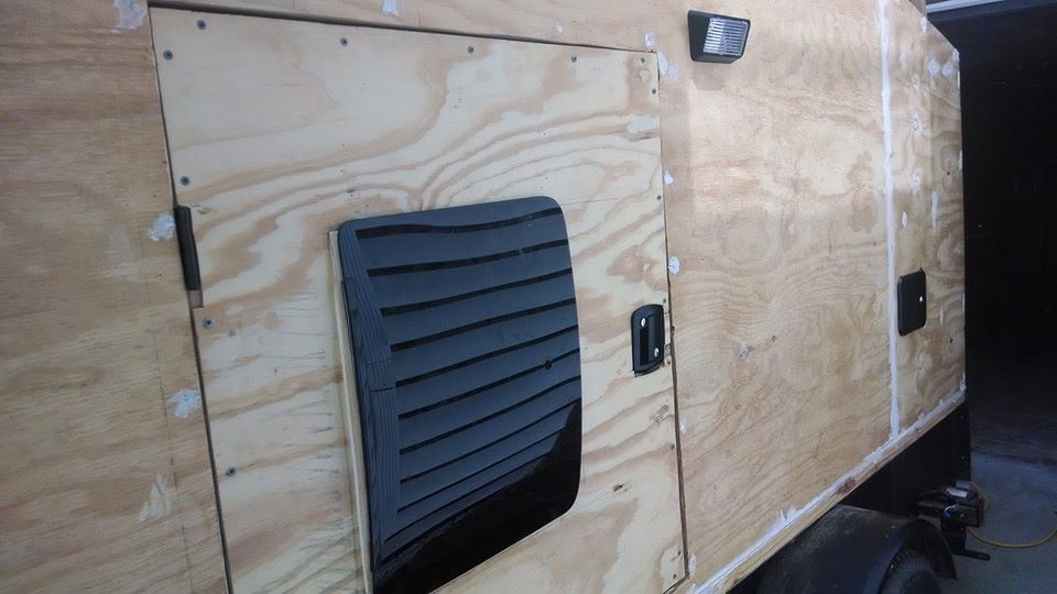 tear drop camper windows