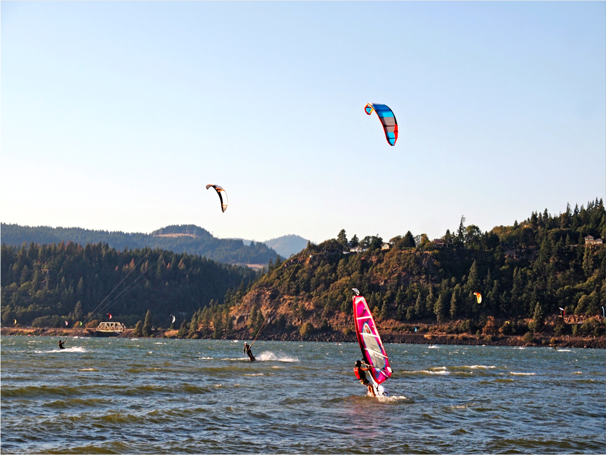 windsurfing and kiteboarding hood river or