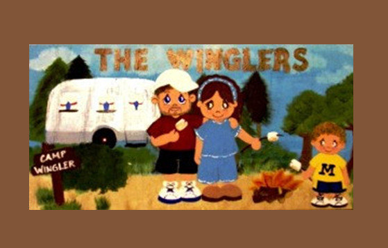 winglers wood painting