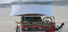 Make your own yurt into an RV