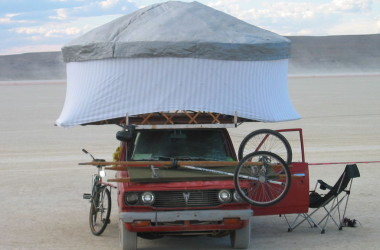 How to Make Your Own Yurt For Cheap and Simple RV Living