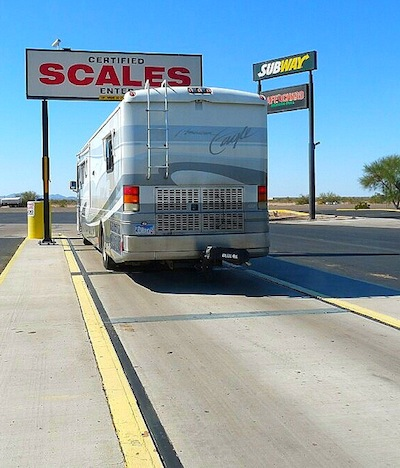 Motorhome-Weigh-Scale