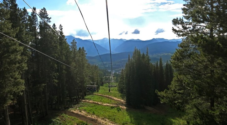 crested butte colorado tram ride