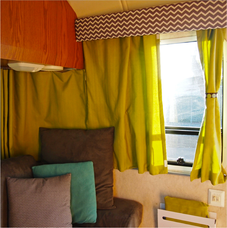make your own curtains for your rv