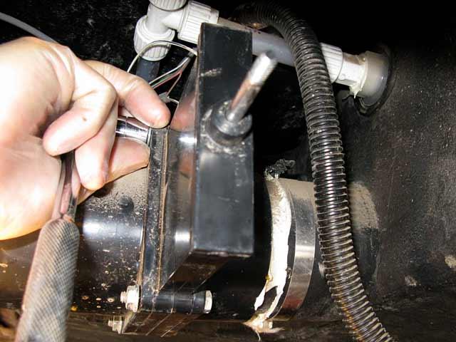 rv waste dump gate valve repair