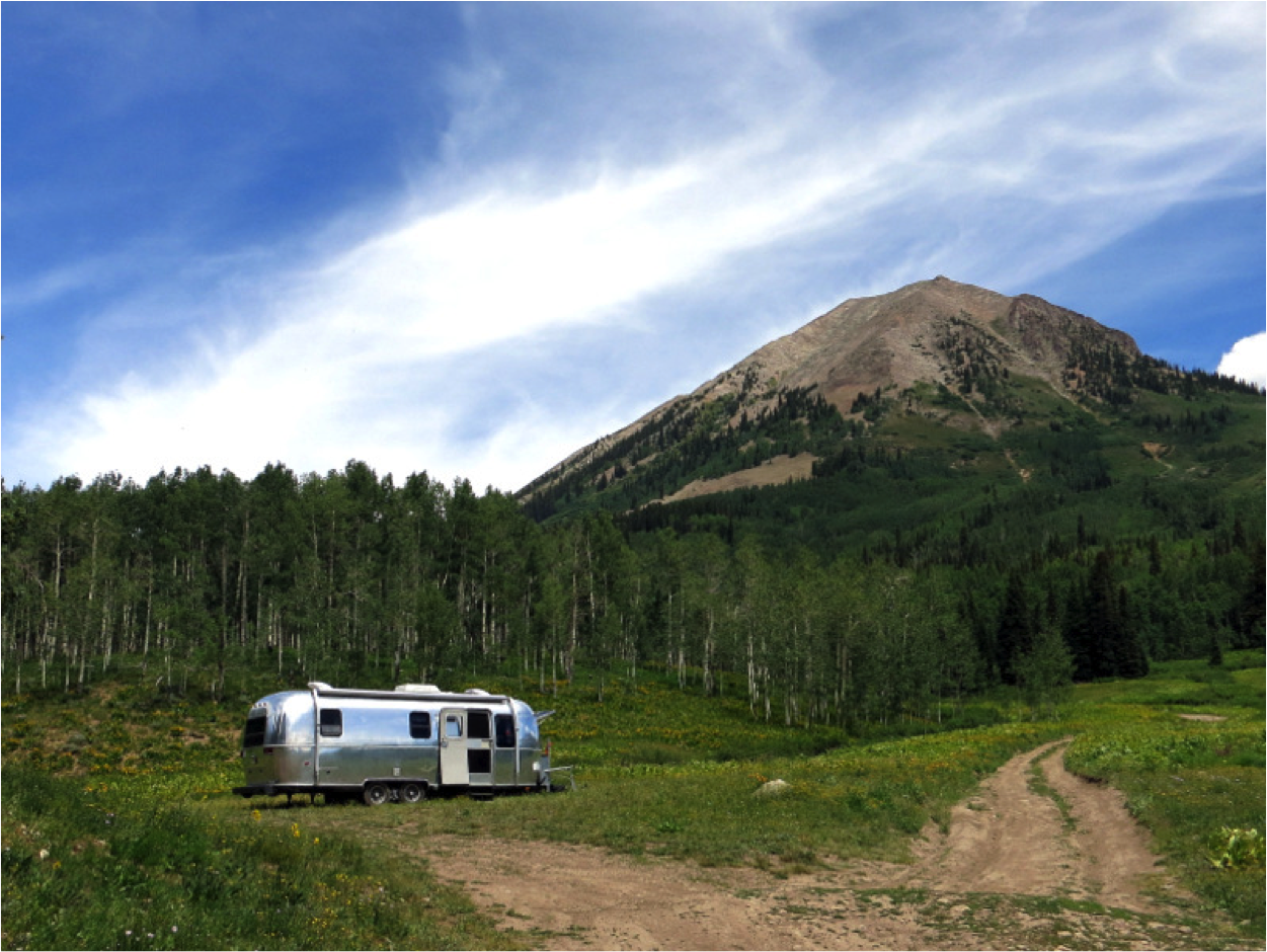 Dispersed Camping on Washington Gulch Rd.