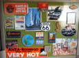 Load it up with magnets, postcards, and other memorabilia