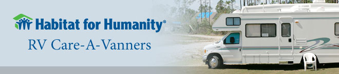 Habitat for Humanity RV Care-A-Vanner logo