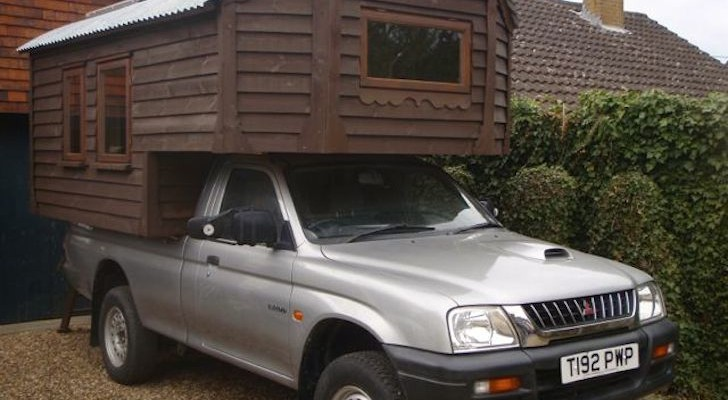This Homemade Truck Camper Is a Work of Art. Wait Until You See the Inside.