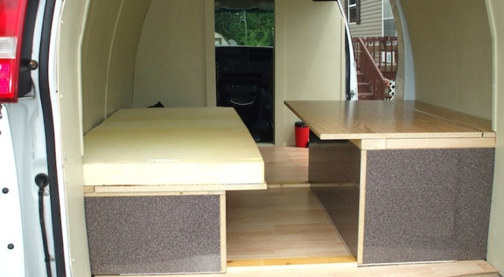 How to Add a Bed to Your Stealth Van Camper. Don't Underestimate the Importance of a Good Night's Sleep.