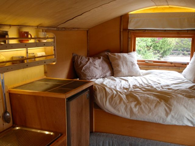 Sleeping Area Over The Cab