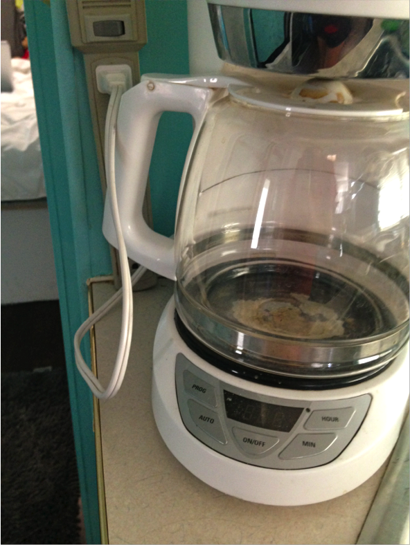 coffee pot in motorhomepng