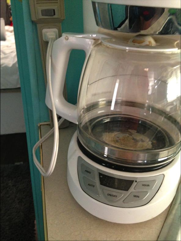 coffee pot in motorhomepng