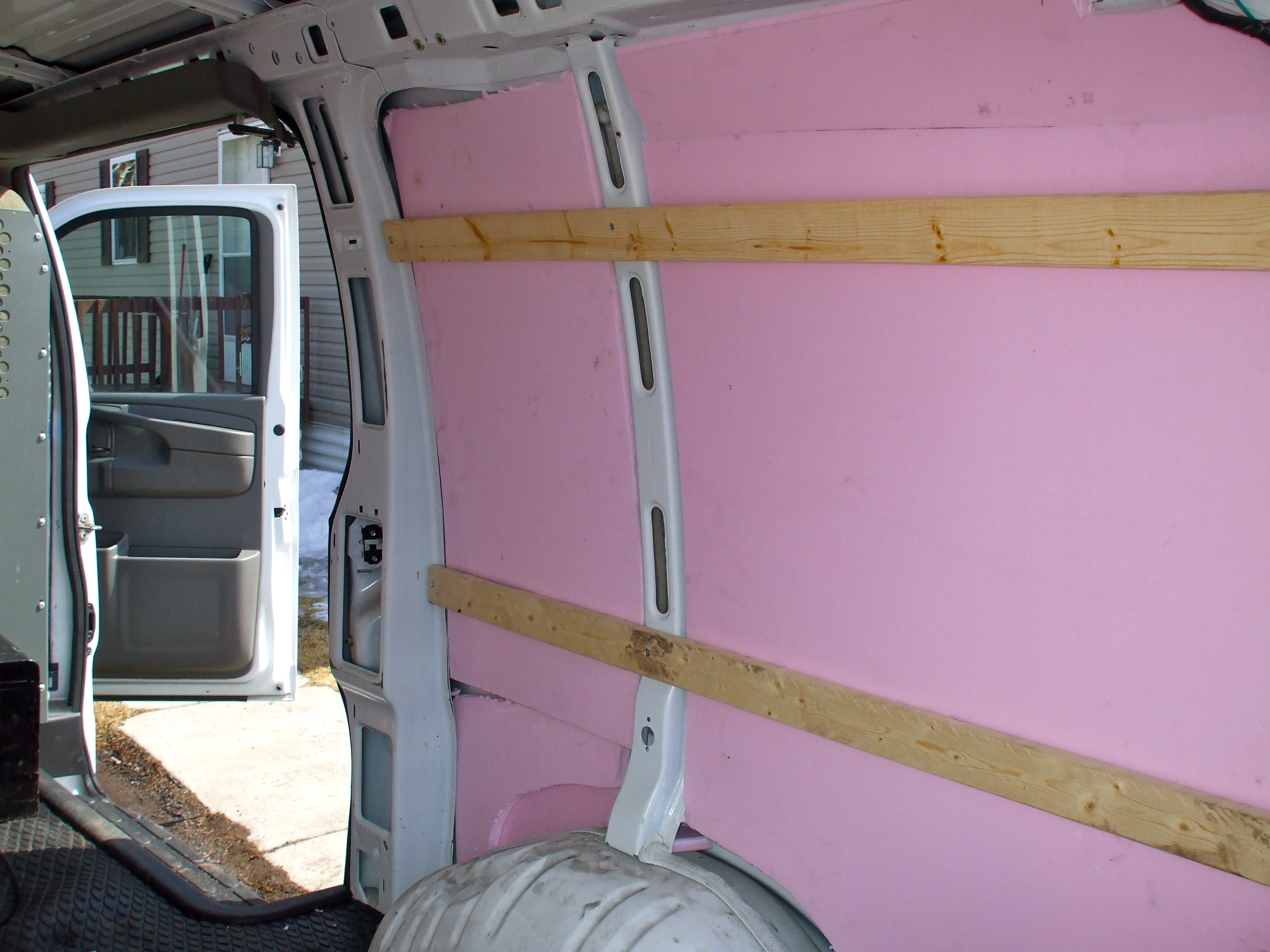 How To Make Your Own Stealth Rv Camper Van Installing Flooring And Insulation